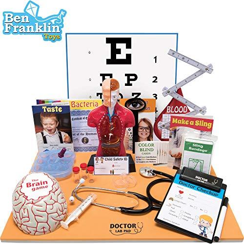 51rQnHn4xwL - Ben Franklin Toys Doctor Lab Pad Biology Kit