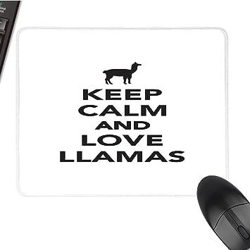 Llamalarge Tapis De Souris Mignon Motif Lama Avec Palette De