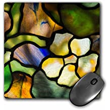3dRose Danita Delimont - Artwork - New York, Tiffany stained glass lamp shade. - MousePad (mp_279255_1)