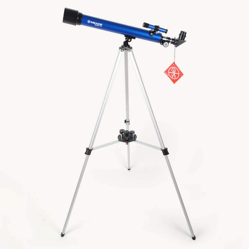 45 Degree Full Zenith Mirror, Portable Refractor Telescope - Fully Coated Glass Optics - Ideal Telescope for Beginners, Focal Length 400Mm by GGPUS