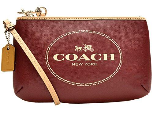 (コーチ) COACH ポーチ リストレット クリムゾン レザー f51788svcm アウトレット レディース 並行輸入品   B00O7I2ZRW
