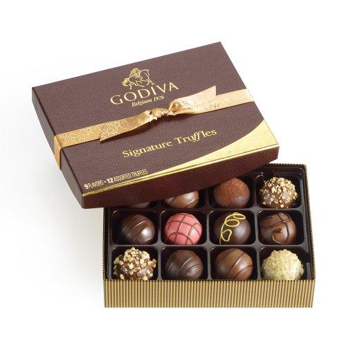 Godiva Chocolatier Signature Chocolate Truffles 12…