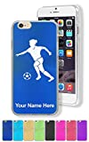 Case for iPhone 6/6s - Soccer Player Woman - Personalized Engraving Included