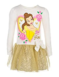 Disney Princess Belle Little Girls' Toddler Dress