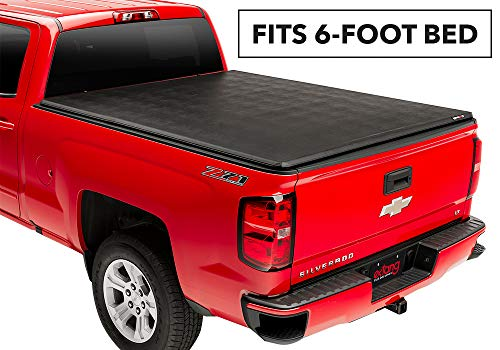 Extang Trifecta 2.O Soft Folding Truck Bed Tonneau Cover | 92450 | fits Chevy/GMC Silverado/Sierra 1500 (6 1/2 ft) 2014-18, 2500/3500HD - 2015-18, 2019 Silverado 1500 Legacy & 2019 Sierra 1500 Limited