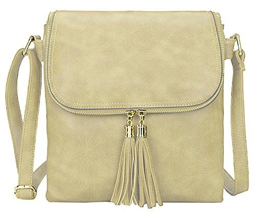 pour Design Handbag Taille à 5 Sac femme Beige Shop M bandoulière Big main vUYq1w1