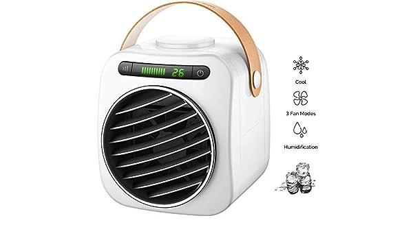 HHH Mini Aire Acondicionado Purificador Humidificador y Ventilador ...