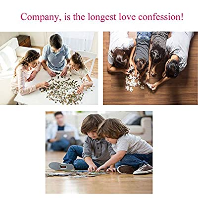 Puzzles for Adults, Jigsaw Puzzles 1000 Pieces for Adults Landscape Building Puzzles Stress Relief, Educational Toys for Kids (Animal): Toys & Games