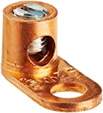 Split Bolt, Post and Tap Connector, Type TL Copper and Cast Bronze Terminal Lug, 14 sol - 4 str Wire Range, 1/4'' Bolt Hole Size, 1 Hole, 70 Amp Nec, 0.500'' Width, 0.563'' Height, 1.125'' Length