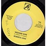 "Roberta Linn - Welfare Wife - 7"" Vinyl"