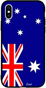 iPhone XS Max / 10s Max Case Cover Australia Flag Zoot High Quality Design Phone Covers