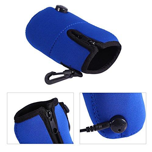 Travel Car Baby Bottle Warmer Milk Warmer Bag,Portable 12V Car Food Water Bottle Heater Warmer,Keep Temperature Bag by GLOGLOW (Image #3)