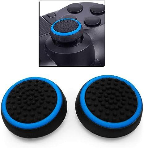 OcioDual 2x Funda de Goma Azul Compatible con Joystick Mando Sony ...
