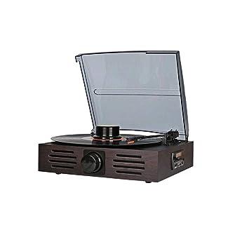 Zmsdt Tocadiscos de la placa giratoria 3 Velocidad del disco de ...