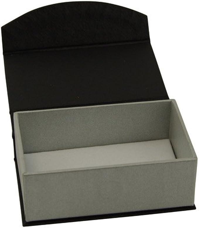 Serie magnético negro caja de gemelos: Amazon.es: Joyería