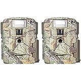 Moultrie D-80 Mini 14MP White Flash Xenon Strobe Digital Game Camera (2 Pack)