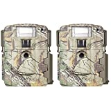 Moultrie D-80 Mini 14MP White Flash Xenon Strobe Digital Game Camera (2 Pack) For Sale