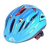 szseven Kids/Childs / Childrens Urban Skate Helmet, Ideal for Skateboard Bike BMX and Stunt Scooter Black Orange Green Pink, for 7-15 years old Boys/Girls (Blue)
