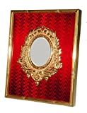 Photo frame in silver with enamels – hand made by Salimbeni - Collectible objet d'art