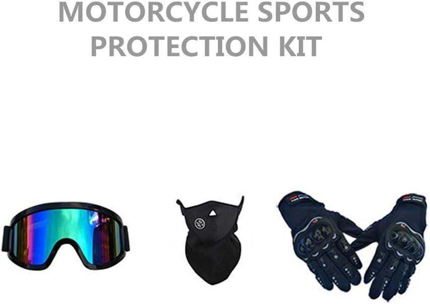 Adult Off Road Helm mit Handschuhe Maske Brille LEWWB Motocross Helm Unisex Motorradhelm Cross Helme Schutzhelm ATV Helm f/ür M/änner Damen Sicherheit Schutz,DOT,S,M,L,XL