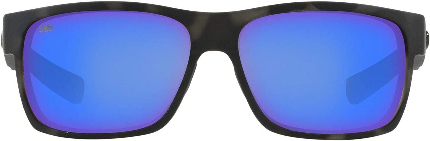 Costa Del Mar Men's Half Moon Rectangular Sunglasses