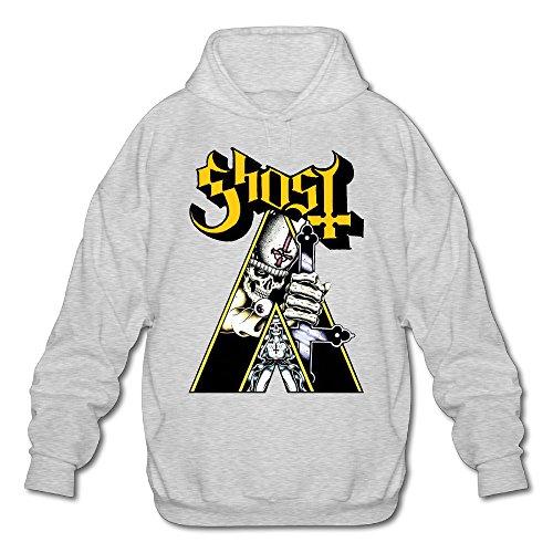 XJBD Men's Popestar-Ghost B.C. Sweatshirt Ash Size M