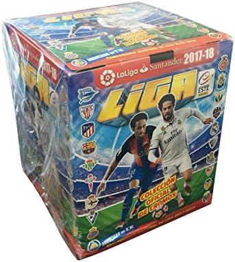 SOBRES CROMOS LIGA ESTE 2017-18 PANINI-1 CAJA 50 SOBRES: Amazon.es: Juguetes y juegos