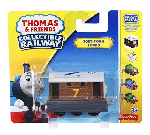 Thomas and Friends Collectible Railway Die-cast Toby Engine