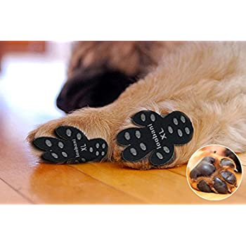Amazon Com Loobani 48 Pieces Dog Paw Protector Traction