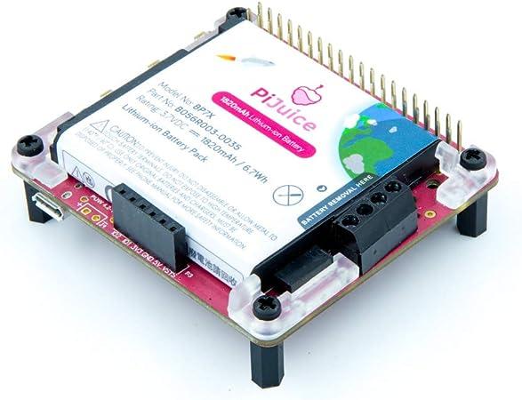 PI SUPPLY PiJuice - A Portable Power Platform For Every Raspberry Pi: Amazon.es: Electrónica
