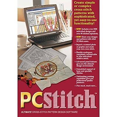 Brand New PC Stitch Pro Cross Stitch Software- Brand New