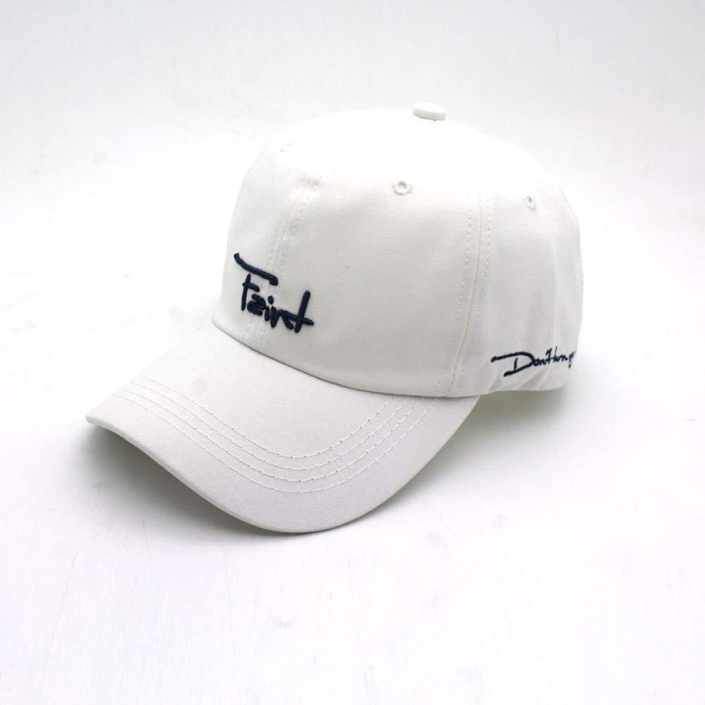 zhuzhuwen Sombrero de Moda Coreana Bordado Gorra de béisbol ...