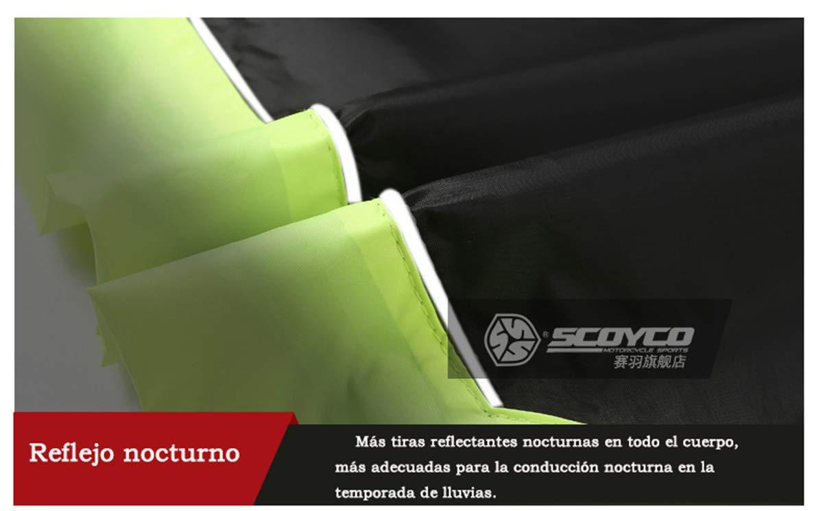 Amazon.com: Scoyco RC01 - Traje impermeable para motocicleta ...