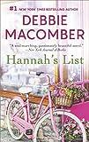 Hannah's List: A Romance Novel (A Blossom Street Novel)