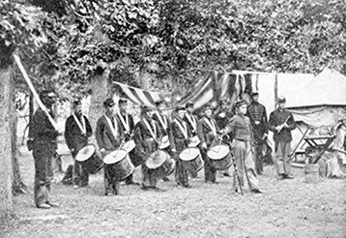 ArtParisienne Civil War Drum Corps 20x30 Poster Semi-Gloss Heavy Stock Paper Print -