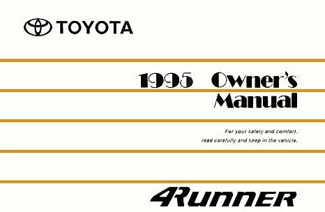 amazon com bishko automotive literature 1995 toyota 4runner owners rh amazon com 1995 toyota 4runner owners manual pdf 1999 Toyota 4Runner