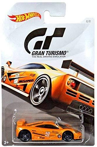 Gtr Wheel - Hot Wheels McLAREN F1 GTR 2018 GRAN TURISMO Series #2 Orange McLAREN F1 GTR 1:64 Scale Collectible Die Cast Metal Toy Car Model #8/8