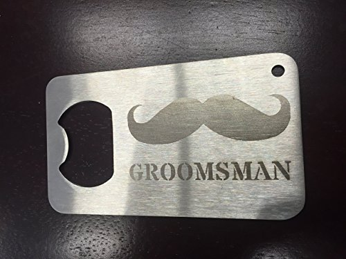 Groomsman gift Man Card Mancard Stainless Steel Made to last