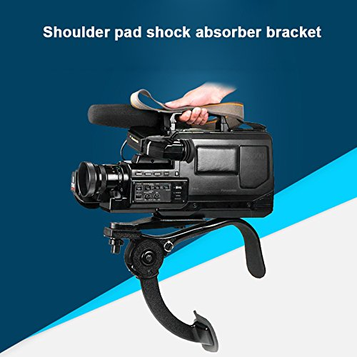 Qjoy Shoulder Support Bracket Hands Free Fixed Stable For Camcorder Digital Camera DV SLR by Qjoy