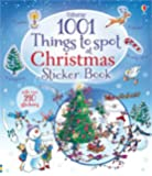 1001 Christmas Things to Spot Sticker Book (1001 Things to Spot Sticker Books)