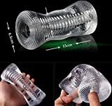 Jiamusi JMS Male Sex Toys for Men delay Spray Trainer seks Mens Sex Toys Sex Male Adult Toys Sex Products. (Color: Crystal Clear) DBK4977