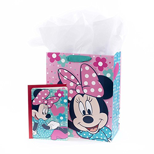 Hallmark Large Gift Bag with Card and Tissue (Minnie (Large Paper Doll)