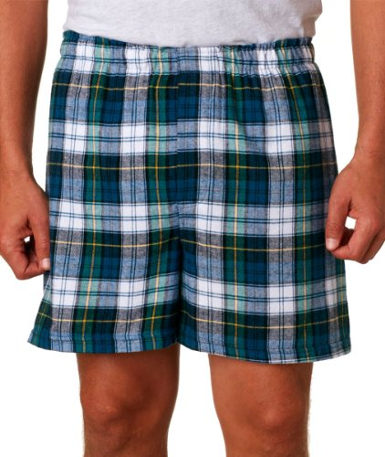 Campbell Flannel - boxercraft F48 Adult Classic Flannel Boxers - Campbell - 2XL