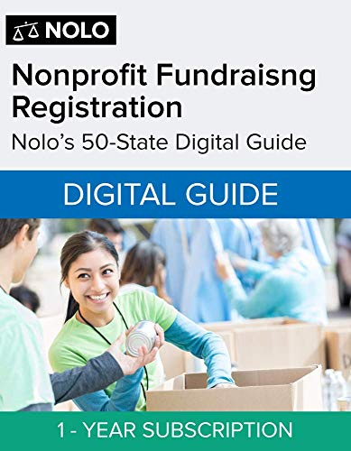 Nonprofit Fundraising Registration Digital Guide 1 Year Subscription [PC/Mac Online Code]