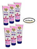 PACK OF 6 - Banana Boat Baby Tear-Free Sting-Free Lotion Sunscreen Broad Spectrum SPF 50 - 8 Ounces
