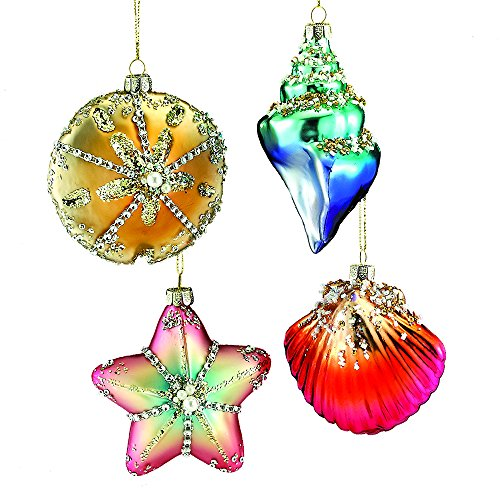 51rQzTxNCPL Amazing Seashell Christmas Ornaments
