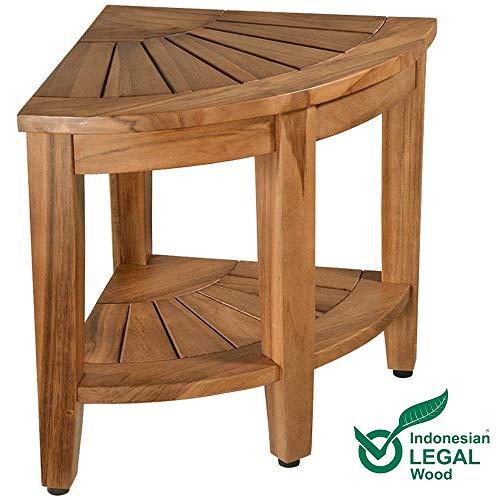 corner shower stool - 3