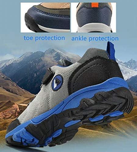 PLMN Kids Boys Trekking Hiking Shoes Ankle Boots Footwear Waterproof Running Sneakers Five to Six Years Old