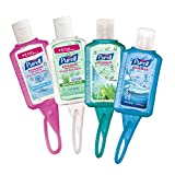 PURELL Advanced Instant Hand Sanitizer - Travel Sized Jelly Wrap Portable Sanitizer Bottles, Scented - (1 oz, Pack of 8)