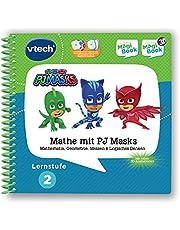 VTech 80-480104 leerniveau 2-wiskunde met PJ-maskers